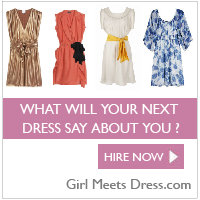 Girl Meets Dress What will your next dress say about you?