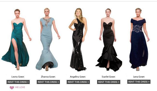 rent ball gown | Girl Meets Dress