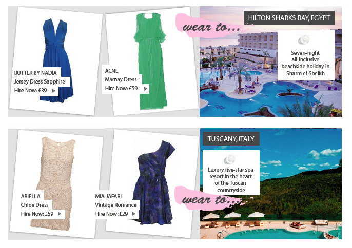 secret escapes 3 Secret Escapes and your perfect holiday looks for summer