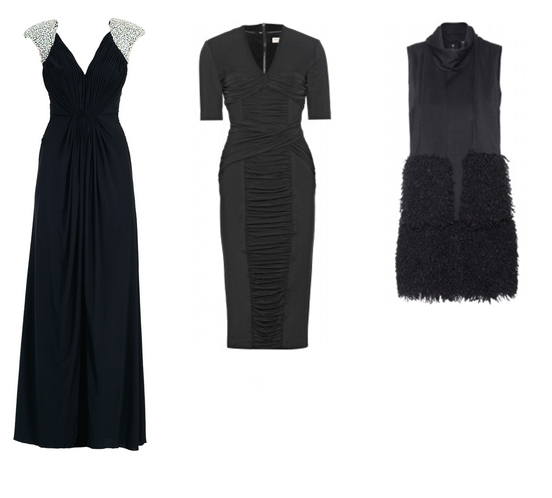 Long dresses for weddings girl meets dress for Black guest wedding dresses