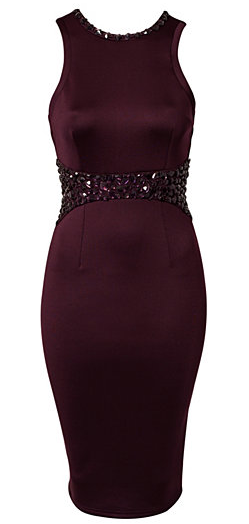 AXParis EmbellishedMidi Party Dress Of The Weekend!