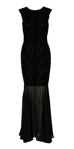 Fishtail Long Black Evening Dresses to Flatter