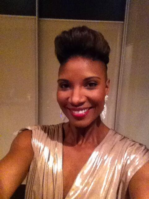 Denise Lewis Sparks Charity Ball Girl Meets Dress Gorgeous Couture
