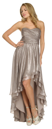 ivy silver gown girl meets dress