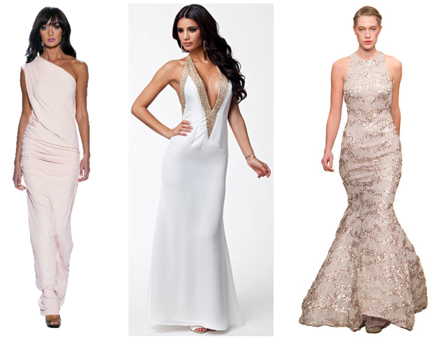3 wedding dresses