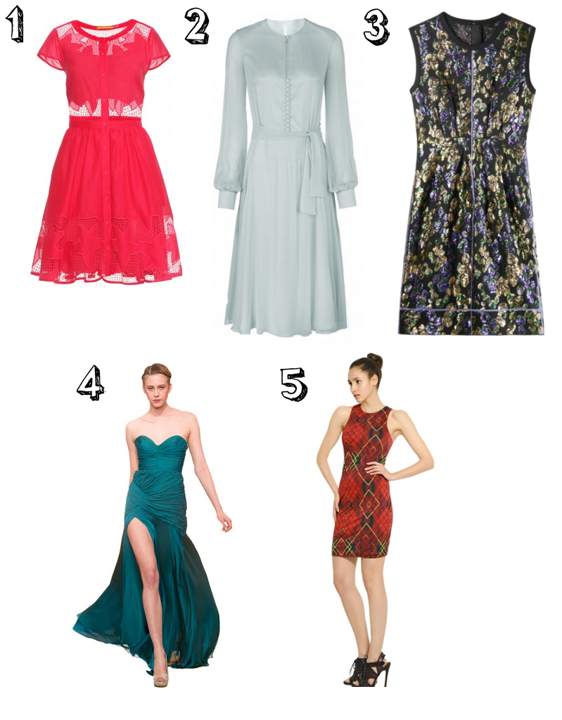 Danielles Picks Featured Blogger: Danielle Beswick Picks Her Top 5 Celeb Dresses