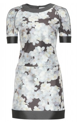 Victoria Beckham Plumerias Printed Dress