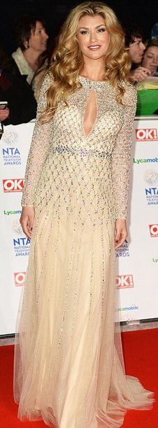 amy again Sparkle like the stars at the NTAs!