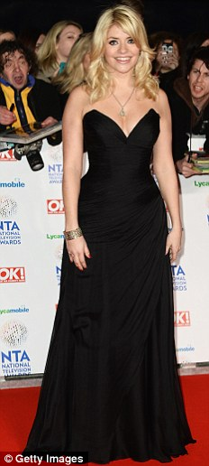 holly Sparkle like the stars at the NTAs!