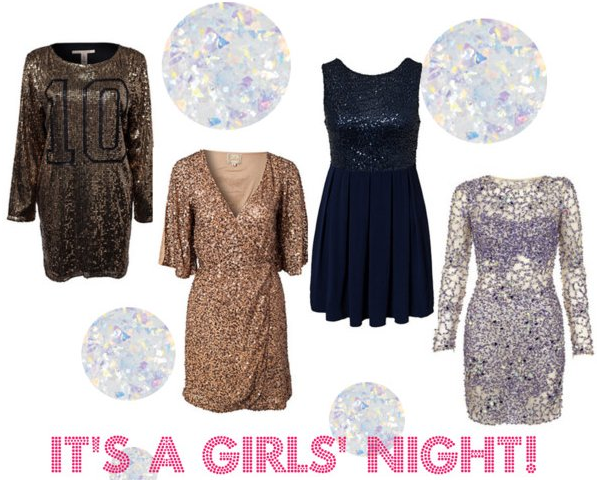 blog pics Sparkling Sequin Girls Night Out Dresses