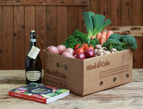 AbelCole Girl Meets Veg Box