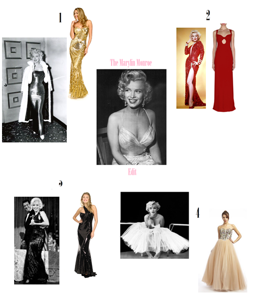 The Marlyin Monroe Edit5 Girl Meets Dress Ball Gowns: Marilyn Monroe Edit