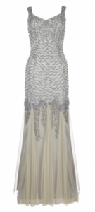 ARIELLA SERAFINA BEADED SEQUIN GOWN CHAMPAGNE large 135x300 Fur, Feathers and Glitz: Evening Dresses for a Gatsby Party