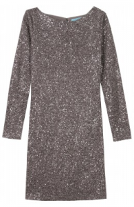 Alice and Olivia Nala Sequined Knit Dress large1 195x300 Cocktail Party Dresses with Long Sleeves: The Chill Edit