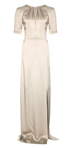 Beulah London Silver Painted Lady Girl Meets Dress Hire large2 For the Bride: Winter Wedding Edit