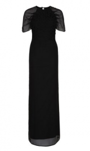 Kilian Kerner Black Gown Girl Meets Dress hire large 180x300 Cocktail Party Dresses with Long Sleeves: The Chill Edit