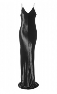 T by Alexander Wang Panne Velvet cami long dress large 182x300 Fur, Feathers and Glitz: Evening Dresses for a Gatsby Party