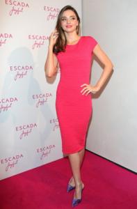 Miranda Kerr at an ESCADA Event