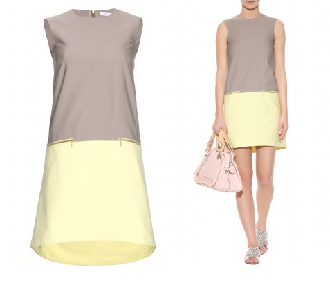 Hire the Victoria Beckham  - Lemon Sorbet Dress at Girl Meets Dress