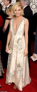 Sienna Miller Dazzles at the 72nd Annual Golden Globes
