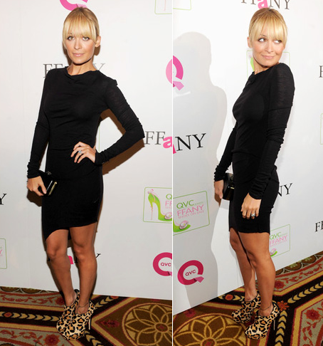 Nicole Richie Helmut Lang Girl Meets Dress