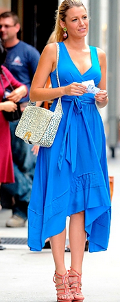 Blake Lively Marc by Marc Jacobs Dress Girl Meets Dress