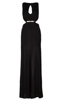 BCBG Maxazria Black Gown large 2015 ELLE Style Awards Dresses