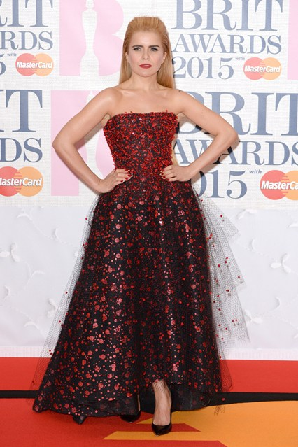 BRITS Paloma The Best Dresses from The Brit Awards 2015