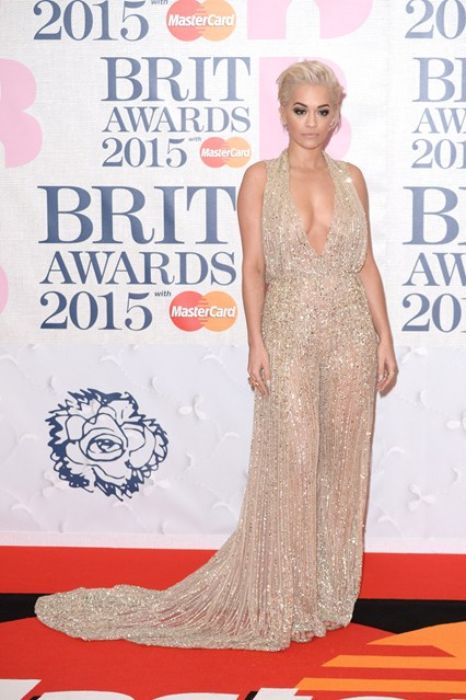 BRITS Rita The Best Dresses from The Brit Awards 2015