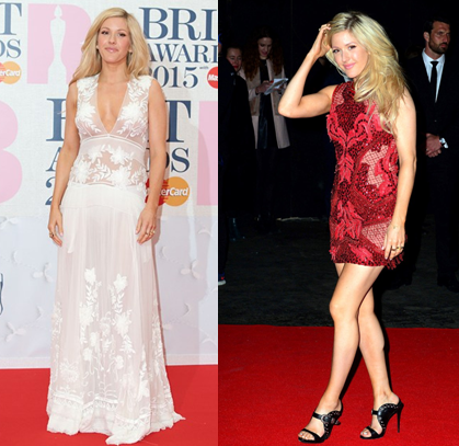 BRITS Ellie 2 The Best Dresses from The Brit Awards 2015
