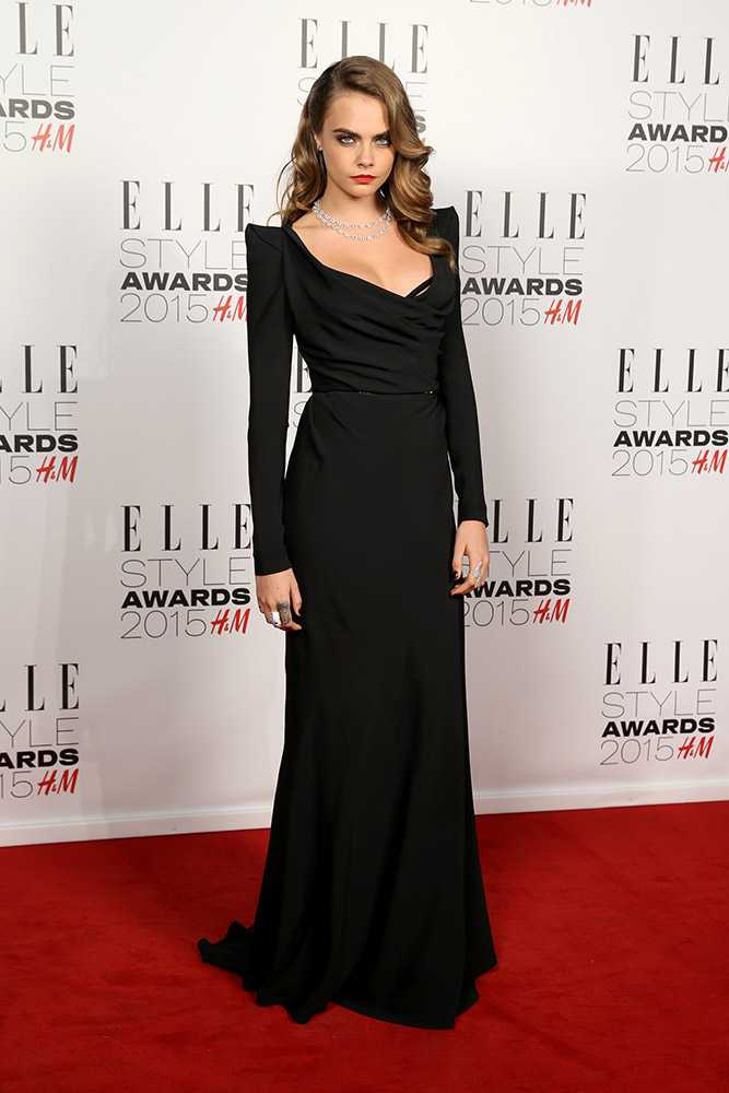 ELLE Style Awards Dresses Cara Delevingne Girl Meets Dress