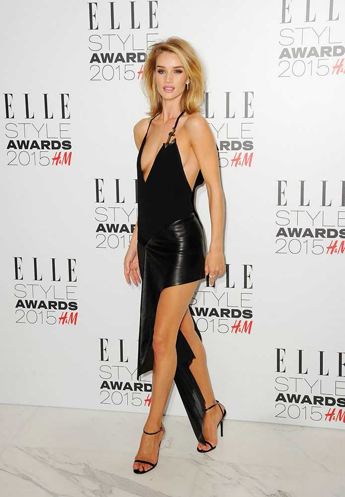 ELLE Style Awards Dresses Rosie Huntington-Whiteley Girl Meets Dress