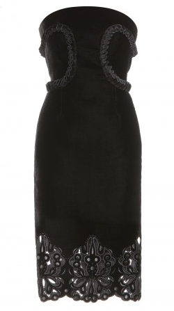 Erdem Saskia Velvet Dress large Erdem Dresses Available to Hire at Girl Meets Dress