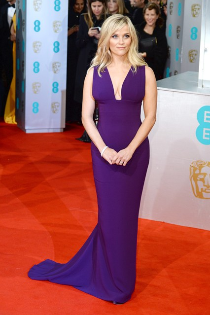 Reese Witherspoon BAFTA Dresses Girl Meets Dress