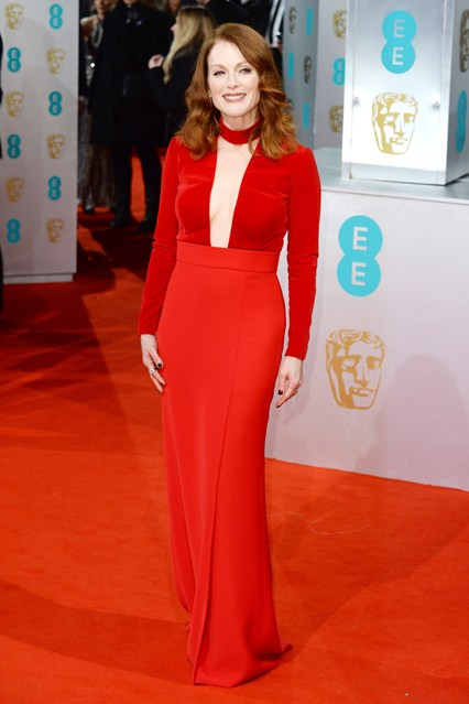 Julianne Moore BAFTA Dress Girl Meets Dress