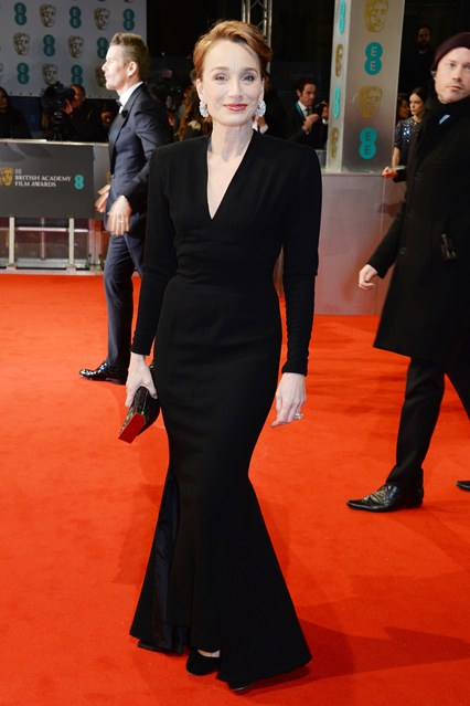 Kristin Scott Thomas BAFTA Dresses Girl Meets Dress