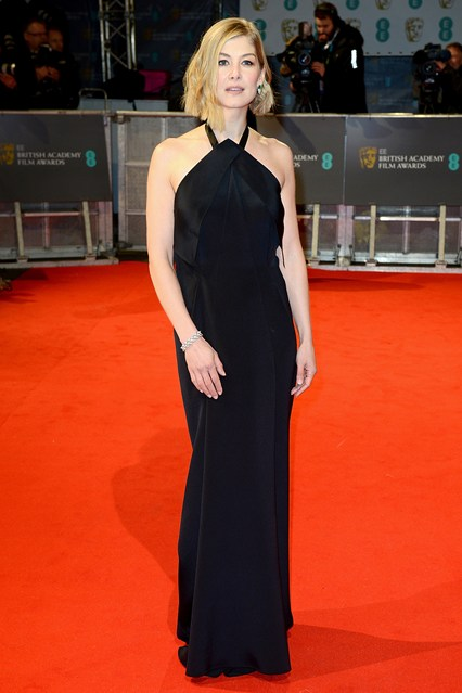Rosamund Pike BAFTA Dresses Girl Meets Dress