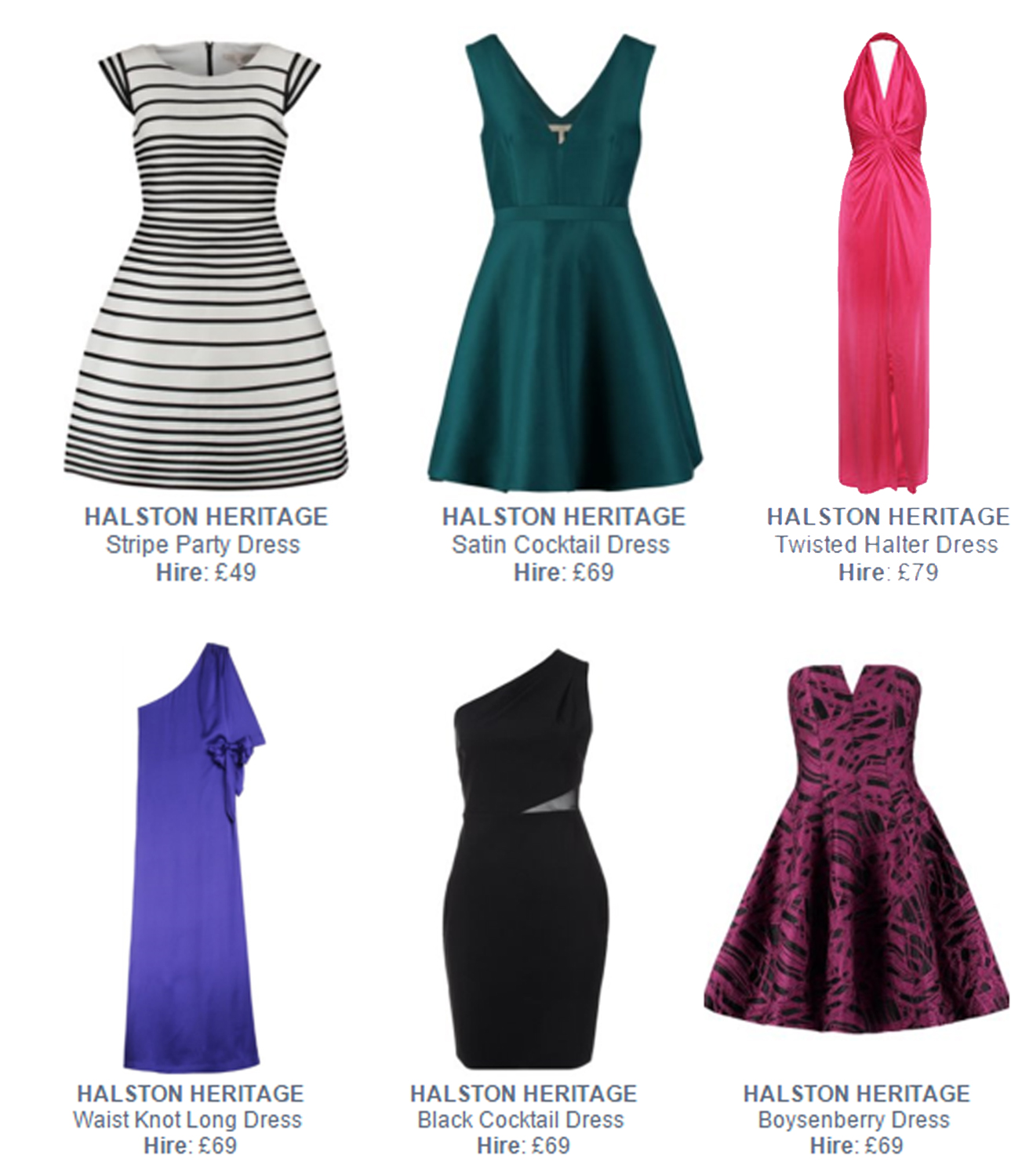 Halston Blog2 Hire Halston Heritage now at Girl Meets Dress