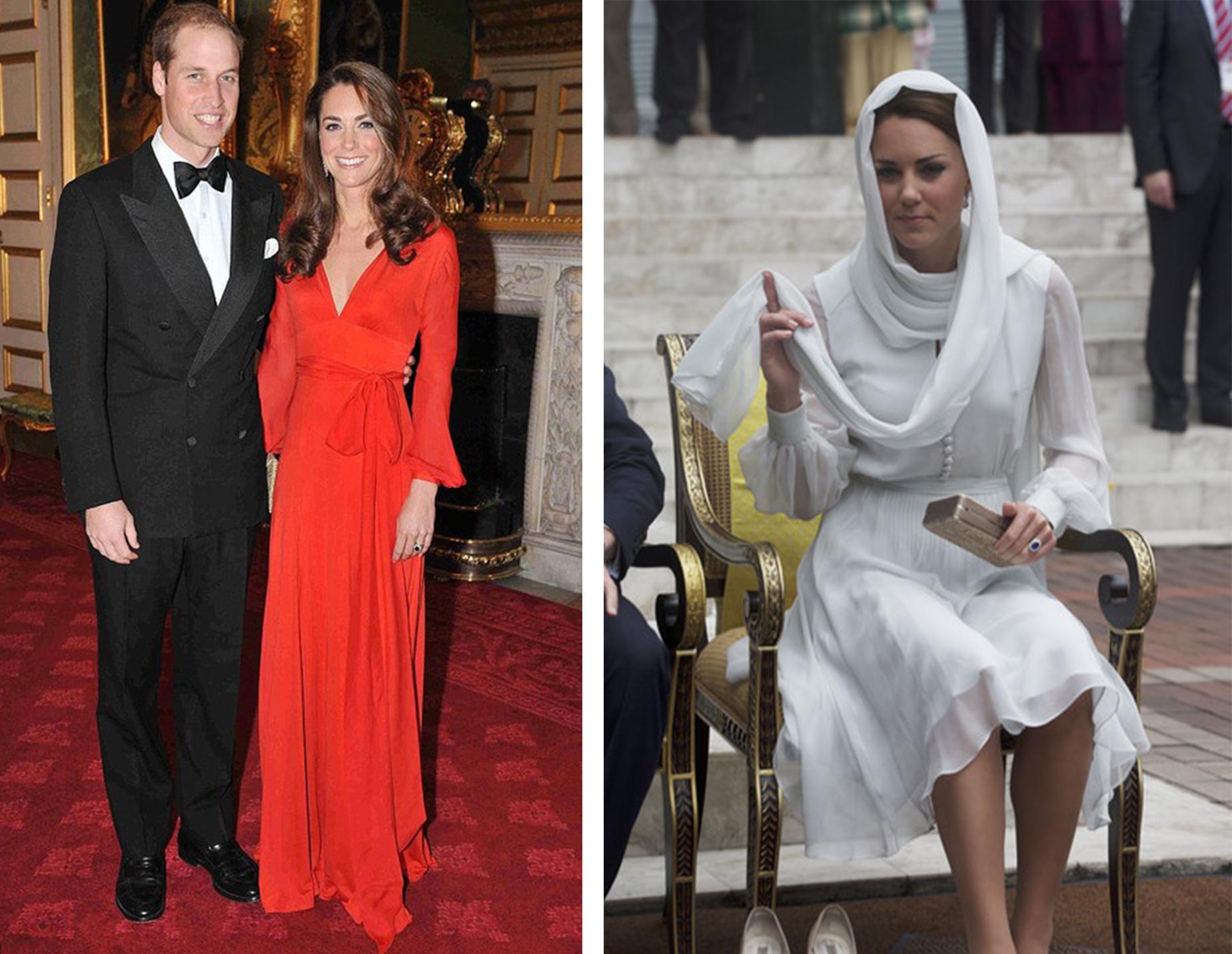blog 1 Kate Middleton wearing Beulah   Now at Girl Meets Dress