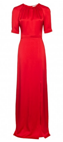 Beulah London Red Painted Lady Girl Meets Dress Hire large What to wear to a wedding