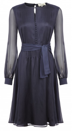 Beulah Sabitri Dress Navy Girl Meets Dress hire large 1 What to wear for the Polo Match
