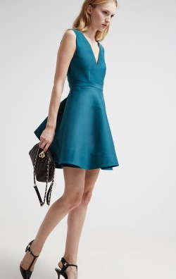 Halston_Heritage_Green_Cocktail_Dress4_large