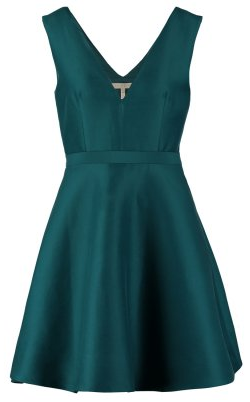 Halston Heritage Green Cocktail Dress large Birthday Ideas and Birthday Dresses