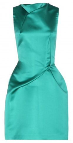 Roland Mouret Zonda Satin Dress large Birthday Ideas and Birthday Dresses