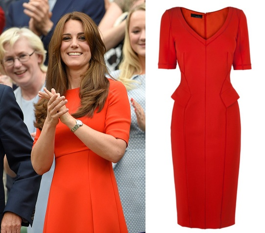 kate middleton wimbledon 2015 inline 012 Dress like a celebrity this summer