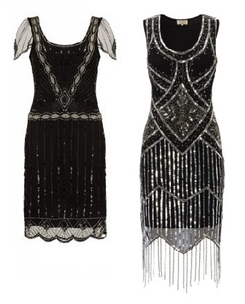 Eva Sleeve Flapper Dress £85 Isobel Black Fringe Dress £85