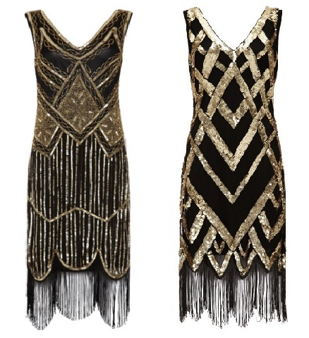 Paris Fringe Flapper Dress £79 Glitz Vintage Flapper Dress £79