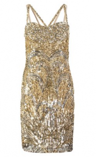VIRGOS LOUNGE - Steel Cocktail Dress (Hire - £69)
