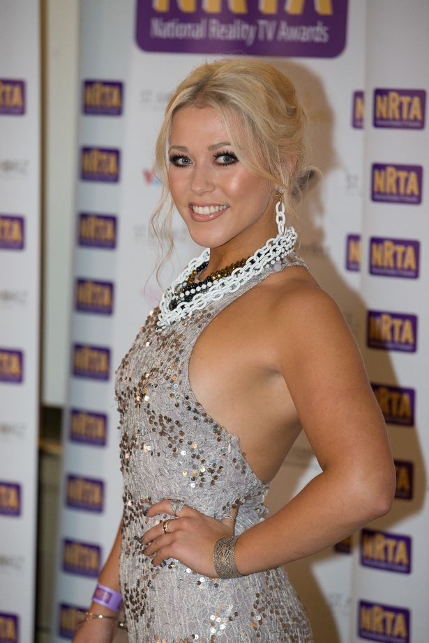 Amelia Lily wearing Girl Meets Dress - Sequined Fishtail