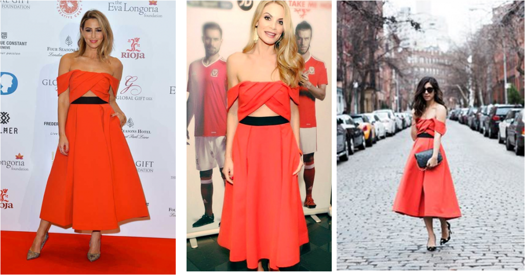 Celebrities in the Ayelette Self Portrait Dress